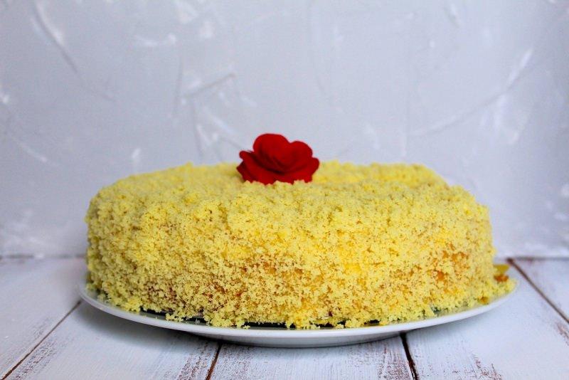 torta mimosa rosa rossa dolce