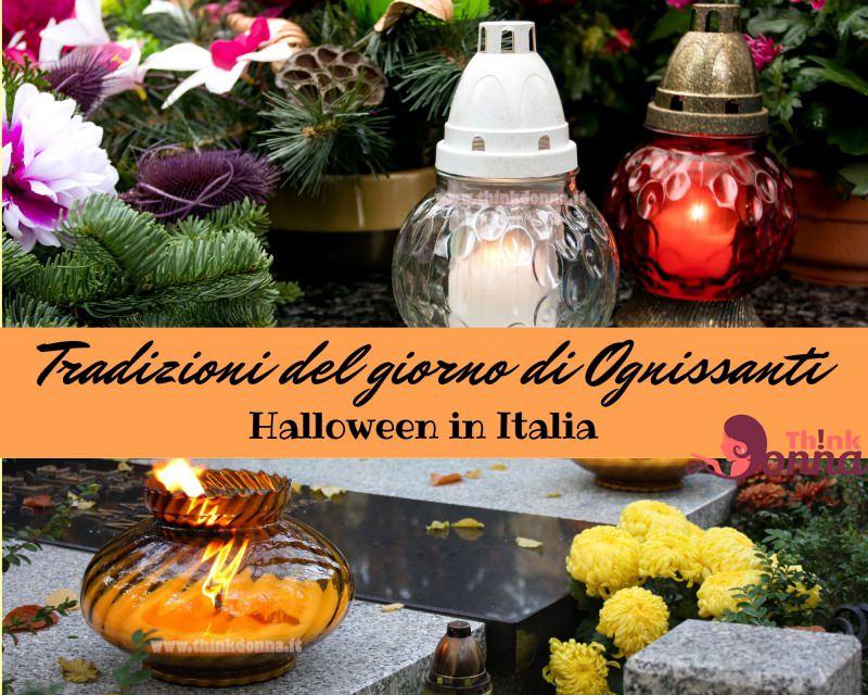 tradizioni Ognissanti commemorazione morti lumi candele fiori tombe
