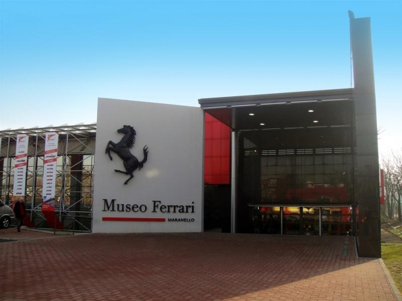 Gite scolastiche per bambini: quali sono le mete migliori? Museo della Ferrari Maranello