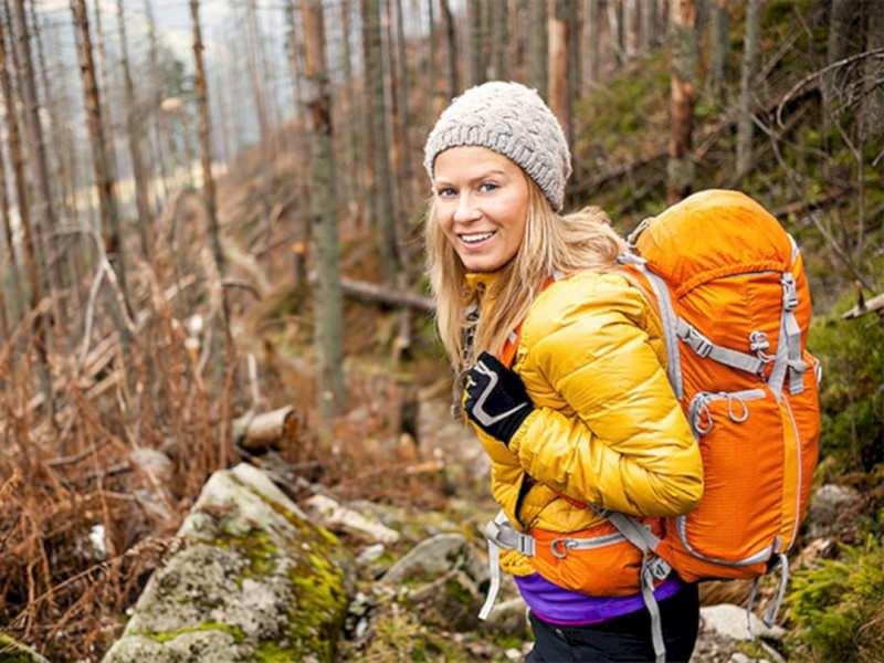 L'abbigliamento tecnico femminile per il trekking