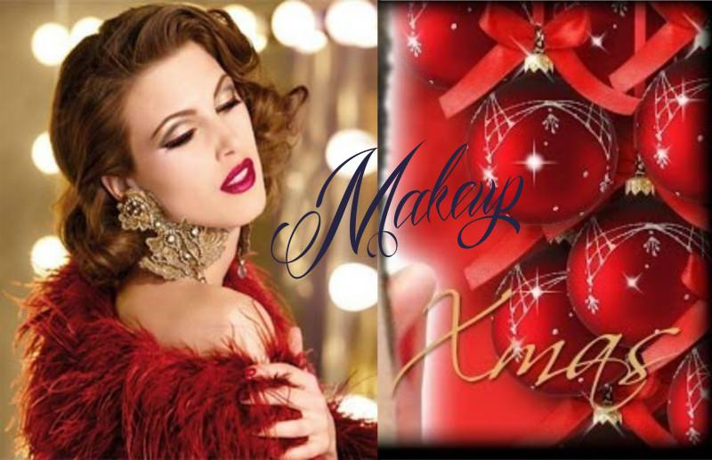 trucco make up natale