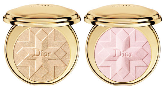 cipria makeup trucco natale dior golden shock nuance gold shock oro pink shock rosa packaging oro