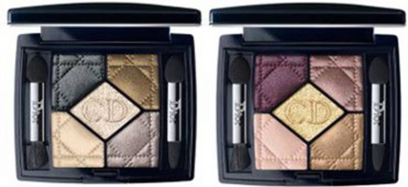 trucco makeup natale 2014 palette 5 Couleurs Eyeshadow dior golden shock nuance colori oro