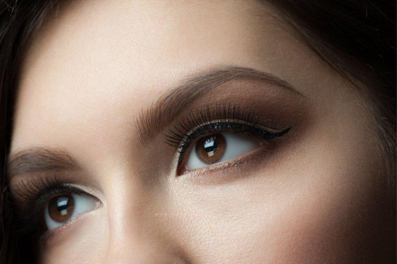 trucco occhi marrone castano ombretto makeup