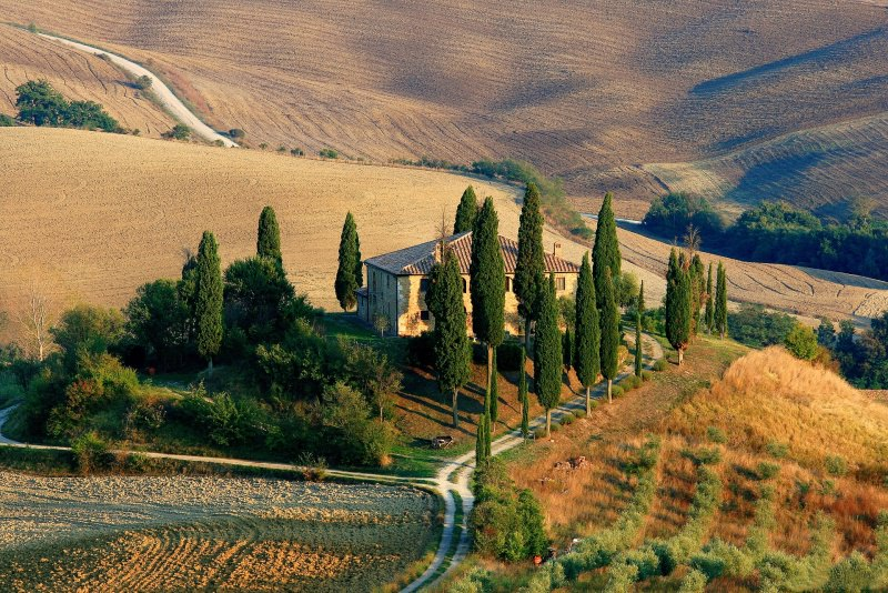 Trip tips | Un weekend d'autunno romantico in Toscana - Parte 1 campagna valle
