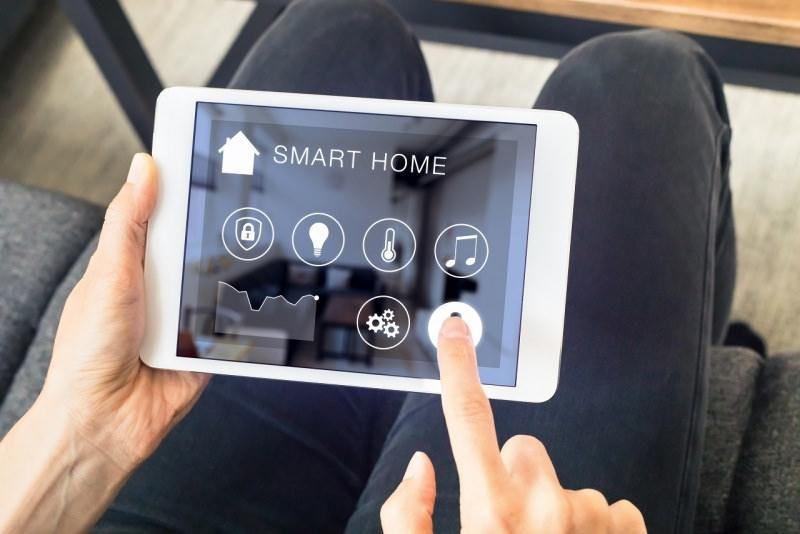 comfort smart home casa intelligente tablet