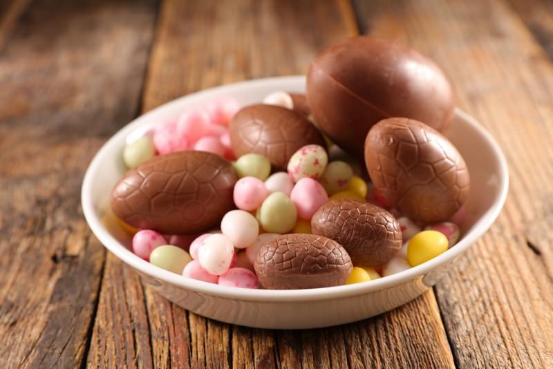 uova di cioccolato ovetti