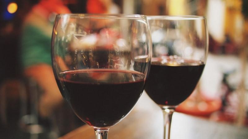 calici vino rosso biologico