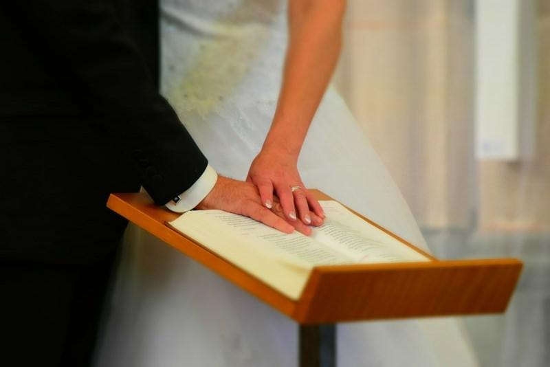 sposi matrimonio nozze libretto messa leggio