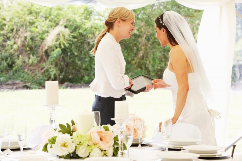 wedding planner matrimonio sposa